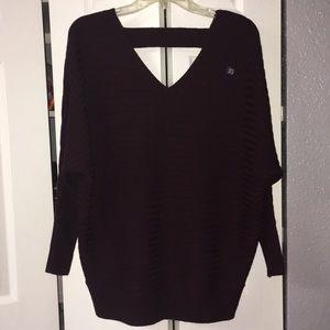 NY&C Burgundy Sweater NWT